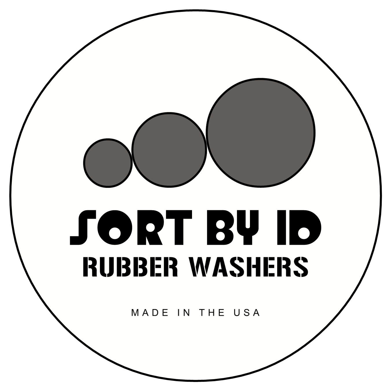 Tiny) Rubber Washers - 1/4