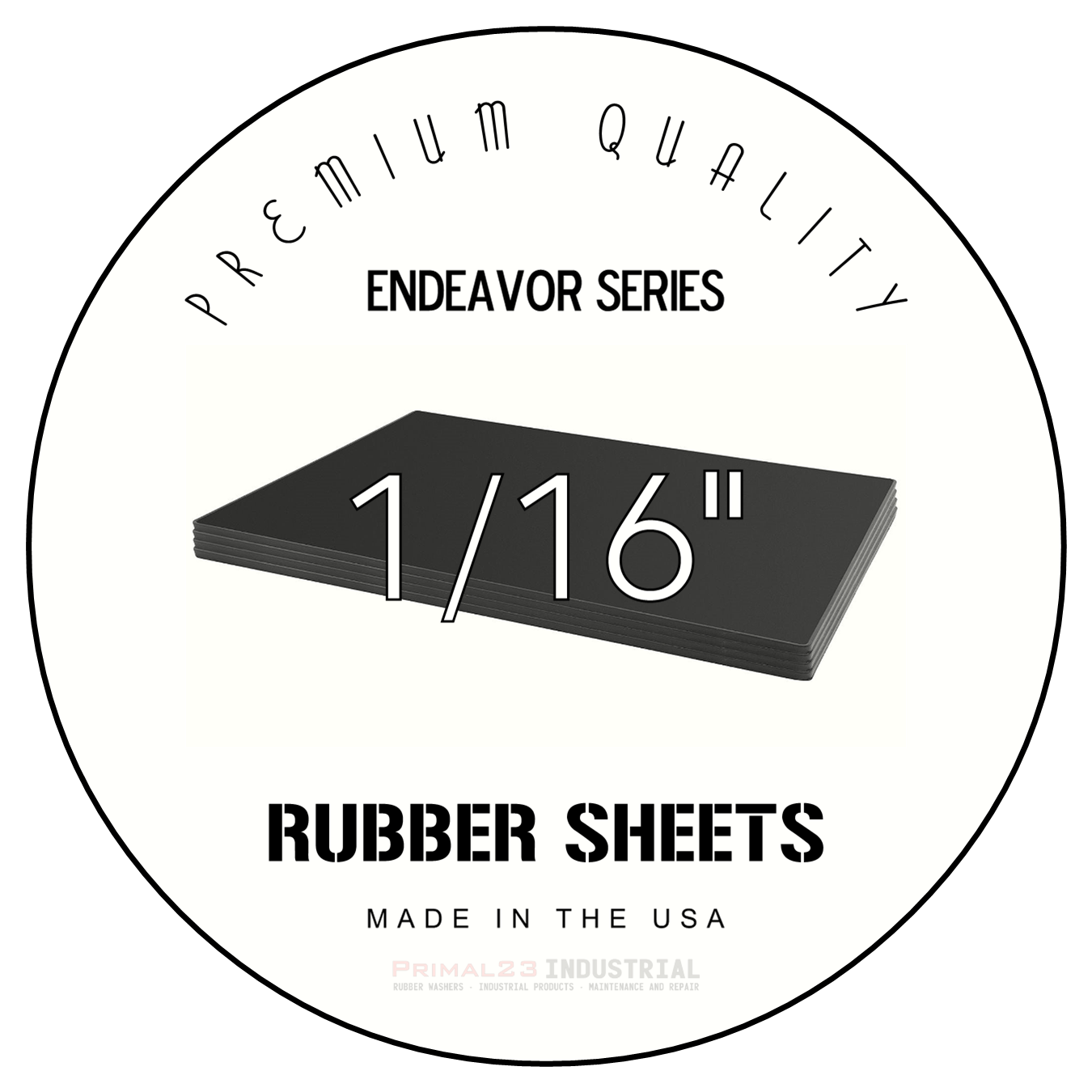 Endeavor Series Rubber Sheets