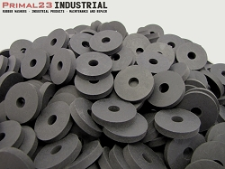 Thick Neoprene Rubber Washers 1 1/2