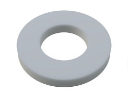 1/2 OD X 1/4 ID X 1/16 Thickness Rigid Nylon Washers