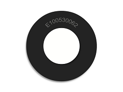 Neoprene Rubber Washers 1 OD X .530 ID X .062 Thickness 60 Duro Shore A Hardness - Endeavor Series Rubber Washers