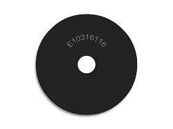 1 OD X 3/16 ID X 1/16  Thickness Endeavor Series Neoprene Rubber Washers