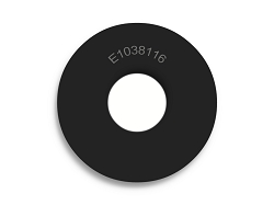 1 OD X 3/8 ID X 1/16 Thickness Premium Quality Neoprene Rubber Washers - Endeavor Series