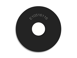 1 OD X 5/16 ID X 1/16 Thickness Neoprene Rubber Washers - Endeavor Series - 60 Duro