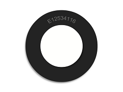 1 1/4 OD X 3/4 ID X 1/16 Thickness Neoprene Rubber Washers - Endeavor Series