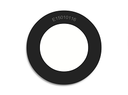 1 1/2 OD X 1 ID X 1/16 Thickness Neoprene Rubber Washers - Endeavor Series