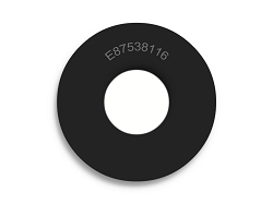 7/8 OD X 3/8 ID X 1/16 Thickness Neoprene Rubber Washers - Endeavor Series