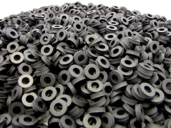 1/2 OD X 1/4 ID X 1/8 Thickness Premium Quality - EPDM Rubber Washers - EPDM Series
