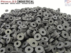 Thick Neoprene Rubber Washers 3/4