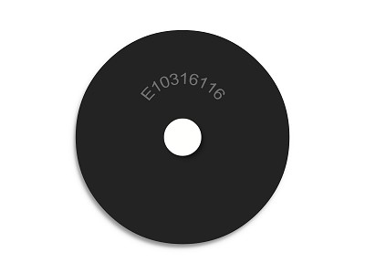 "1"" OD X 3/16"" ID X 1/16""  Thickness Endeavor Series Neoprene Rubber Washers"