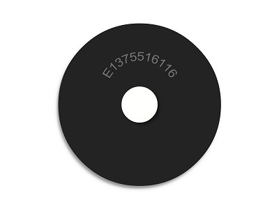 "1 3/8"" OD X 5/16"" ID X 1/16"" Thickness Neoprene Rubber Fender Washers - Endeavor Series"