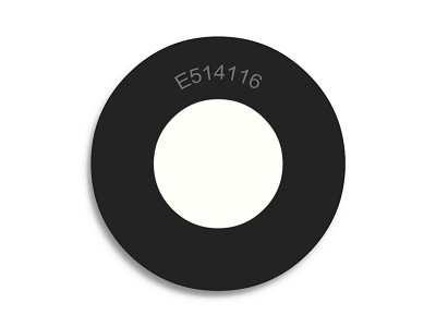 "1/2"" OD X 1/4"" ID X 1/16"" Thickness Neoprene Rubber Washers - Endeavor Series"
