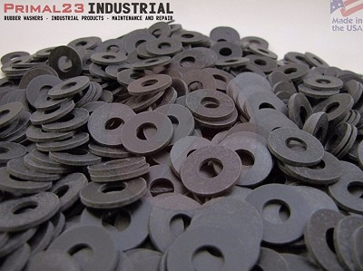 "Premium Quality EPDM Rubber Washers 3/4"" OD X 5/16"" ID X 1/16"" Thickness - 70 Duro"