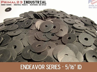 "1 1/4"" OD X 5/16"" ID X 1/16"" Thickness Neoprene Rubber Washers - Endeavor Series"