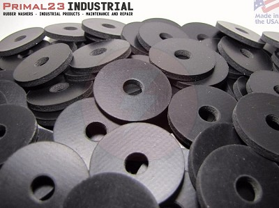 "1 1/4"" OD X 5/16"" ID X 1/8"" Thickness 2 Ply Nylon Reinforced Neoprene Rubber Washers - Performance Series"