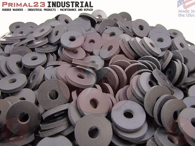 "1"" OD X 5/16"" ID X 1/8"" Thickness 2 Ply Nylon Reinforced Neoprene Rubber Washers - Performance Series"
